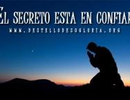 Devocional Cristiano – El secreto está en confiar