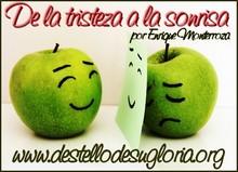 De la tristeza a la sonrisa