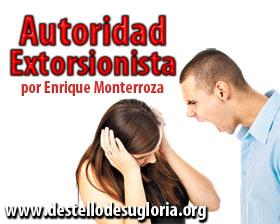 Autoridad-Extorsionista