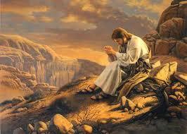 jesus orando