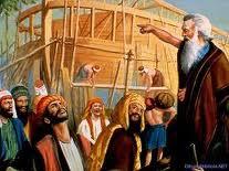¡Los tiempos de Noé!