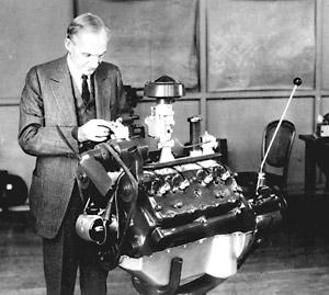 El motor V-8, un sueño posible