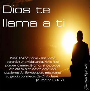 Dios te llama a ti