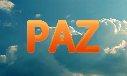 Video: Paz
