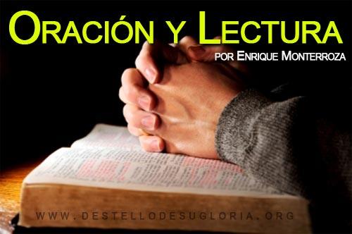 Oración y Lectura