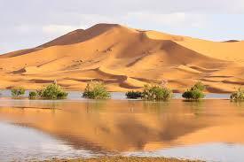 agua en el desierto