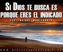 Si Dios te busca es porque eres el indicado