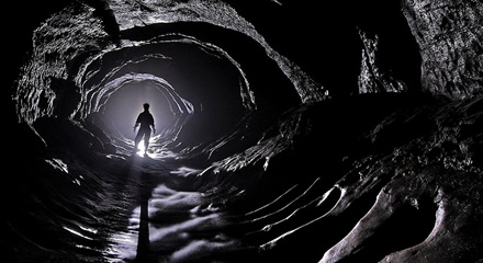 caverna misteriosa