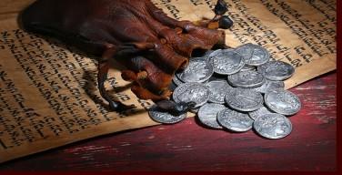 Las treinta monedas de plata de Judas Iscariote