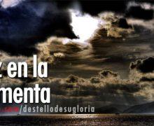 Audio Reflexión: Paz en la tormenta