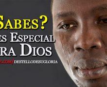 Video: ¿Sabes?, Eres especial para Dios