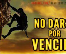 Video: No darse por vencido