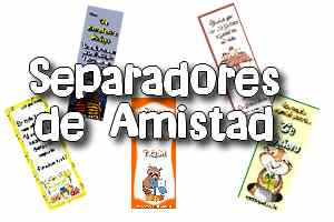 11 SEPARADORES CRISTIANOS DE AMISTAD