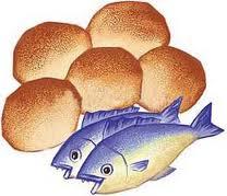 Cinco panes y dos pescados