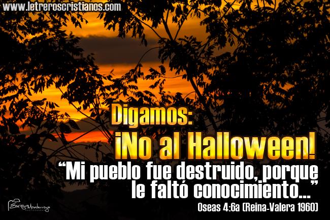 Imágenes con textos de la Biblia en contra de Halloween
