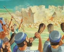 ¡Jericó la inconquistable! – Bosquejos