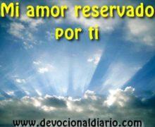 Devocionario – Mi amor reservado por ti