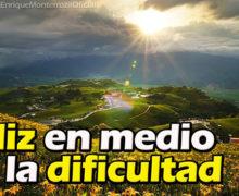 Video: Feliz en medio de la dificultad