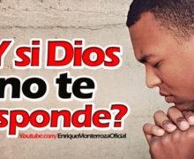 Video: ¿Y si Dios no te responde?